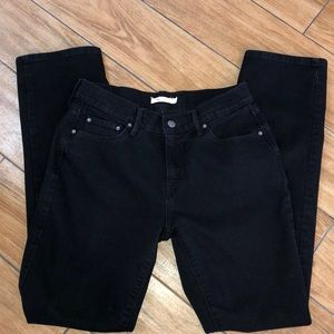 Levi Strauss black jeans